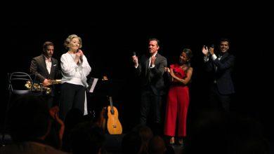 Photo of The great Simone de Oliveira at the Tivoli Theater