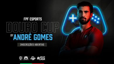 Photo of André Gomes is the ambassador of the virtual version of the FPF eSports Douro Cup