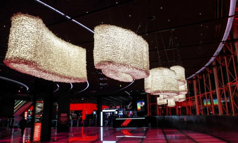 "Photo of Installation ""StreamLight"" by Margarida Valente highlighted at Casino Lisboa until September 1st"