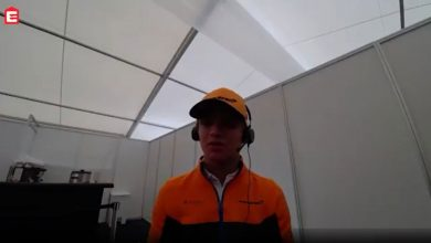 Photo of Lando Norris in an exclusive interview with Eleven Sports