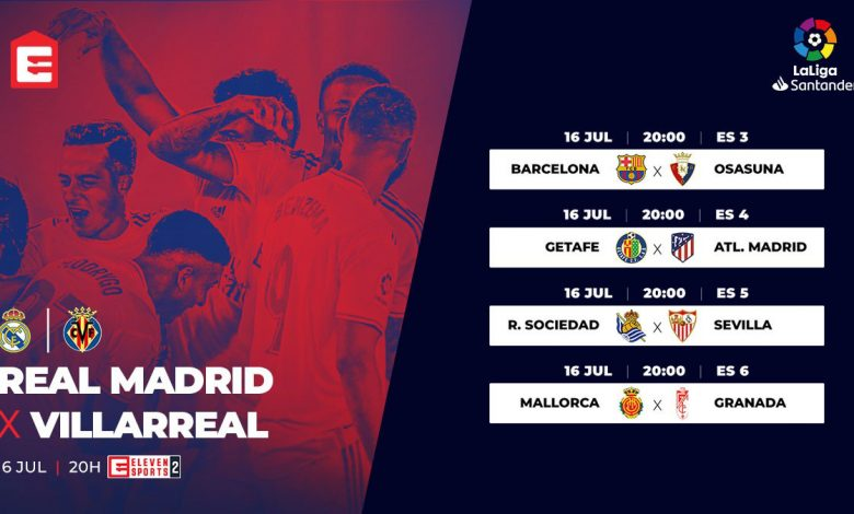 Photo of All the emotions of the 37th LaLiga Santander round live and exclusive at Eleven Sports