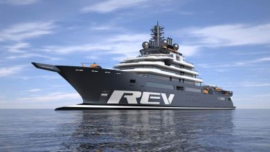 Photo of Yacht will collect five tons of plastic a day
