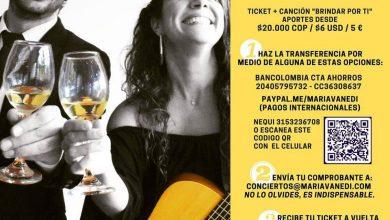 Photo of María Vanedi presents the new single in a virtual concert