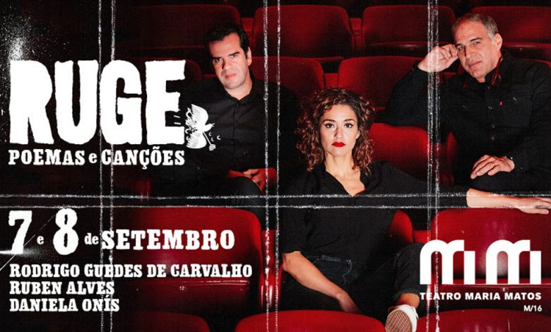 Photo of Rodrigo Guedes de Carvalho presents RUGE at Maria Matos Theater