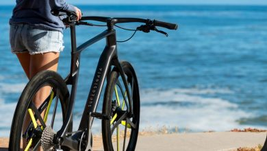 Photo of 3D electric bike made of 100% carbon fiber offers 96 km of autonomy