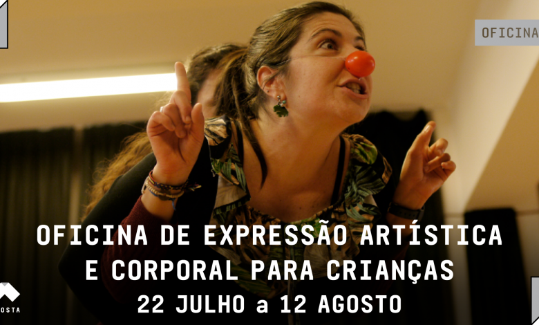 Photo of Artistic and body expression workshop for children – Malaposta