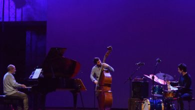 "Photo of André Rosinha Trio, presented ""Árvore"" at CCB"