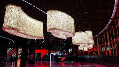 "Photo of Casino Lisboa welcomes until September Installation ""StreamLight"" by Margarida Valente"