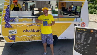 Photo of Chef Chakall's Chakburgers arrive in Vilamoura with Galp