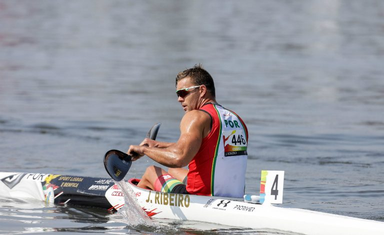 Photo of João Ribeiro stands out in the Nationals of canoeing with two titles