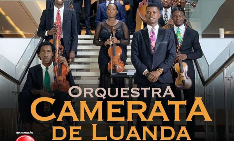 "Photo of Orquestra Camerata from Luanda is the headliner for this edition of ""Show do Mês"""
