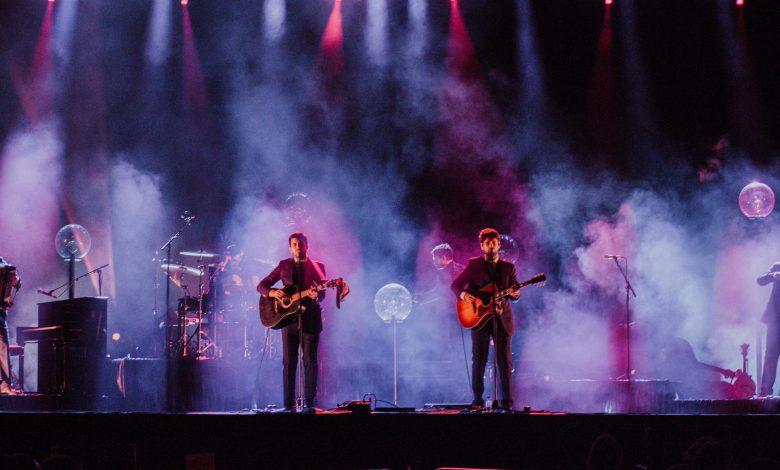 Photo of Os Quatro e Meia livened up the Festival F night in Faro