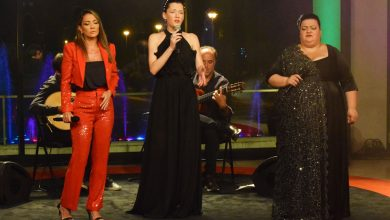 "Photo of Filipa Cardoso, Sónia Santos and Yola Dinis – Fado at ""Serões no Casino Estoril"""