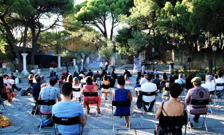 """Photo of Companhia da Esquina presented the play """"Sonho"""" at Castelo de S. Jorge"""