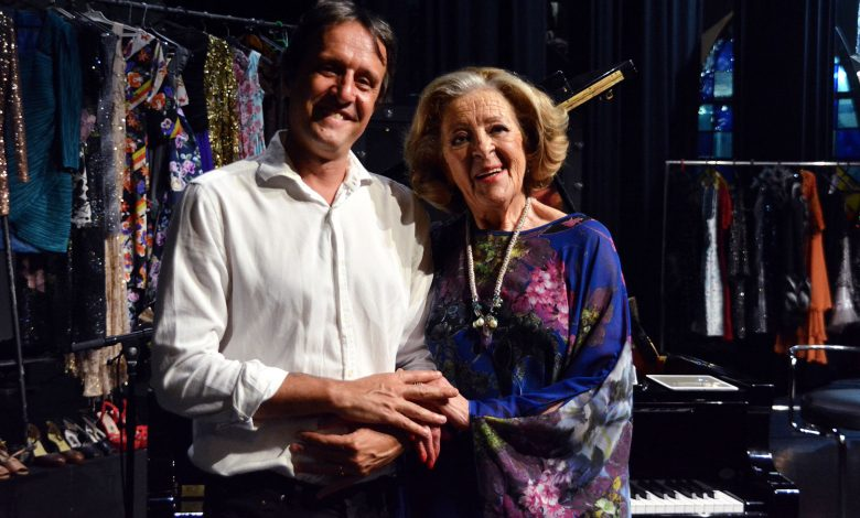 Photo of Simone de Oliveira and Nuno Feist at Casino Estoril