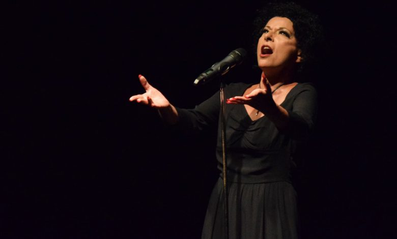 Photo of Edith Piaf at Casino Estoril on a great night by Wanda Stuart