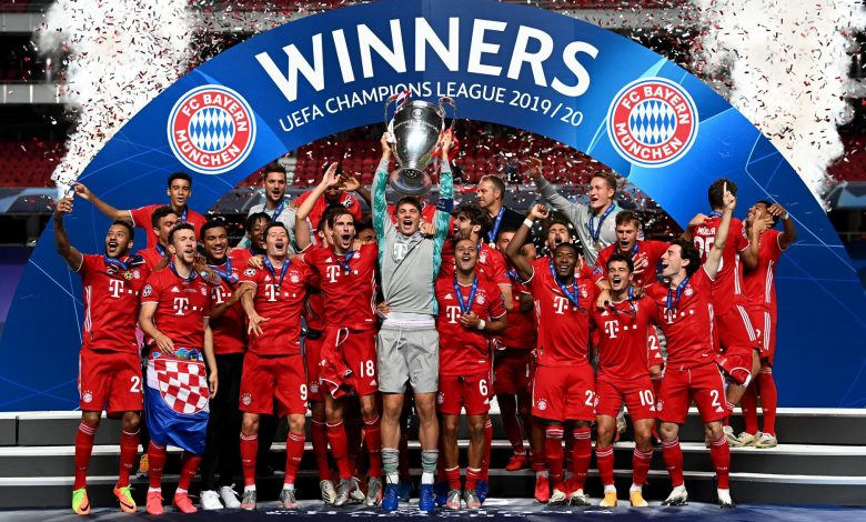 Photo of Bayern Munich wins the Champions League after defeating PSG