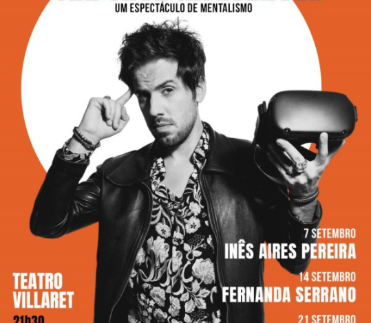 Photo of João Blümel has a new mentalism show at Teatro Villaret