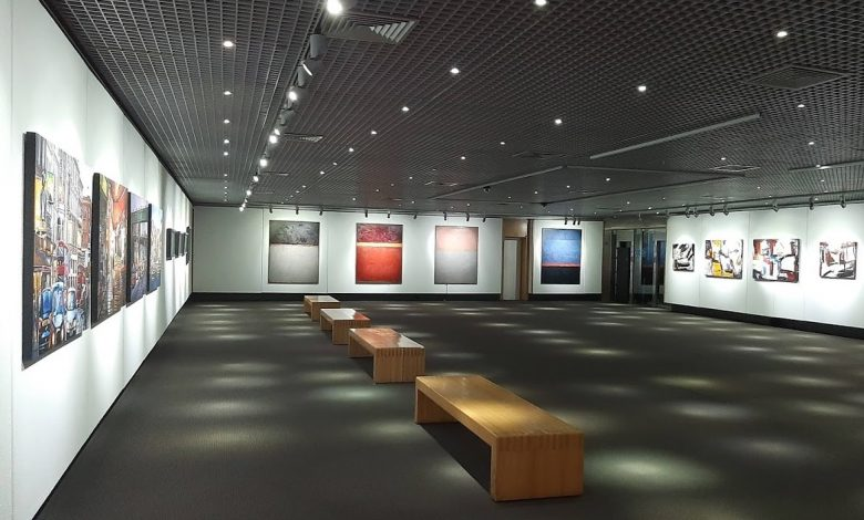 "Photo of Collective exhibition ""5 x 4"" highlighted at Casino Estoril"