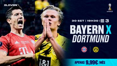 Photo of Bayern and Dortmund play Supercup live and only at Eleven