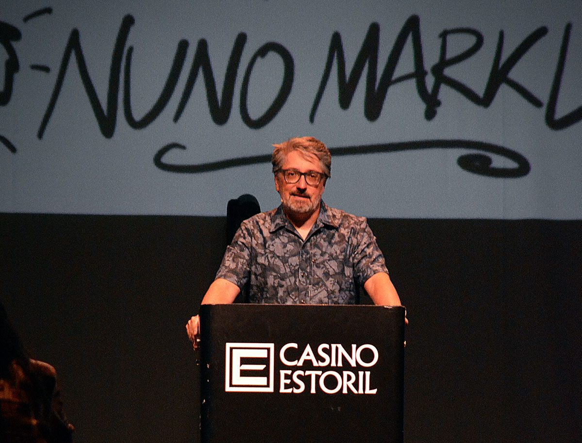 Nuno Markl, Casino Estoril © Margarida Rodrigues - Portugalinews