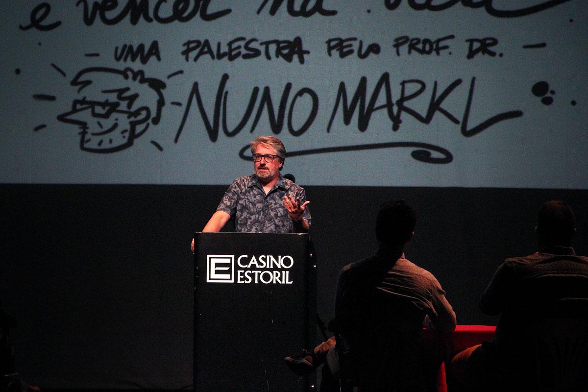 Nuno Markl, Casino Estoril © Patricia Rodrigues - Portugalinews