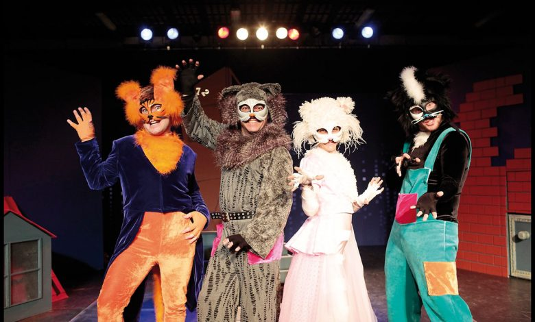 Photo of 'Cats' by T. S. Eliot presented at TMJB