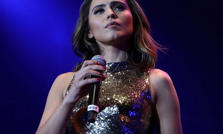 Photo of Maria Emília in concert at the Centro Cultural de Belém, on the 9th of October