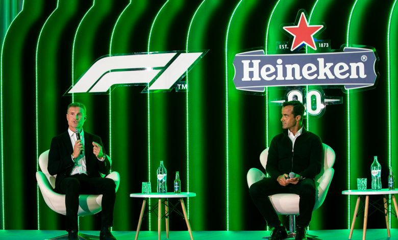 Photo of F1 Heineken trophy arrives in Portugal driven by the legendary David Coulthard