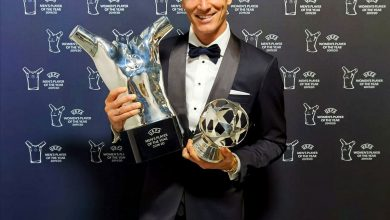 Photo of Lewandowski wins UEFA best player of the year award