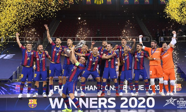 Photo of Barcelona become European futsal champion after beating ElPozo Murcia