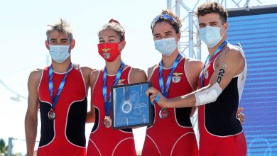 Photo of Benfica vice European champion of mixed relay in triathlon