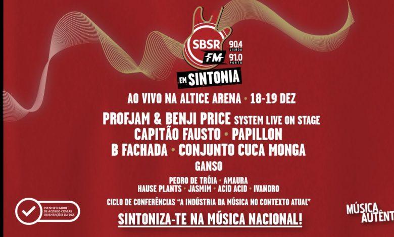 Photo of Rádio SBSR.FM Em Sintonia | Altice Arena