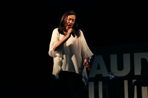 Aldina Duarte at Festa do Avante 2020 © Patricia Rodrigues - Portugalinews (4)