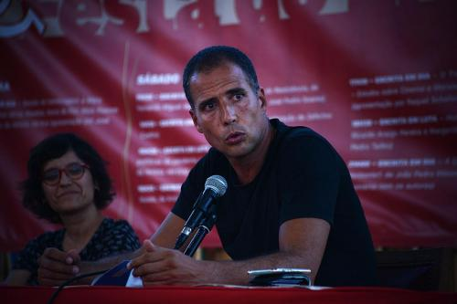 Ricardo Araújo Pereira at Festa do Avante 2020 © Luis M. Serrão - Portugalinews (1)
