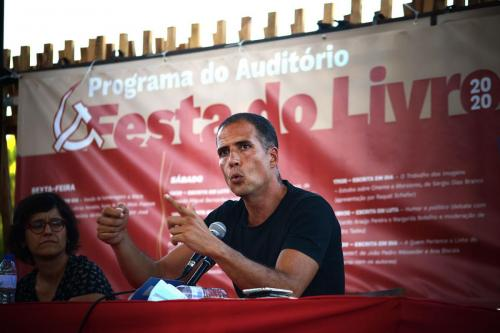 Ricardo Araújo Pereira at Festa do Avante 2020 © Luis M. Serrão - Portugalinews (4)